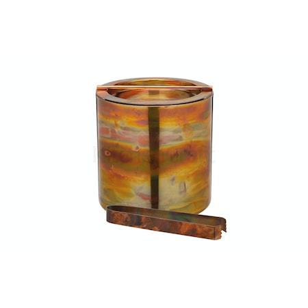 BarCraft Small Copper ishink med lock