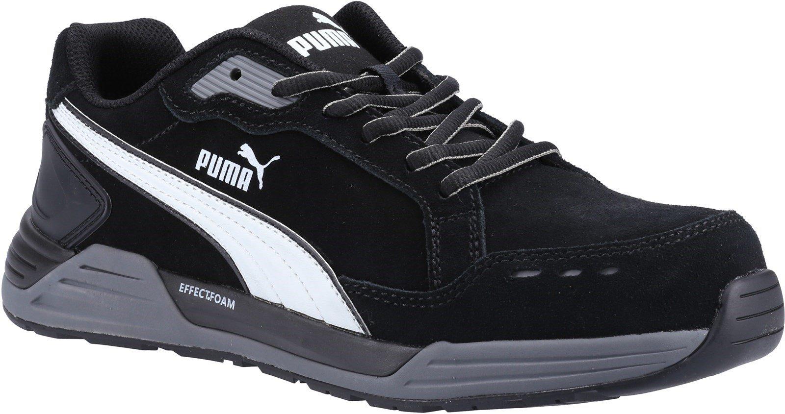 Puma Safety Unisex Airtwist Low S3 Trainer Black 32825 - Black 6