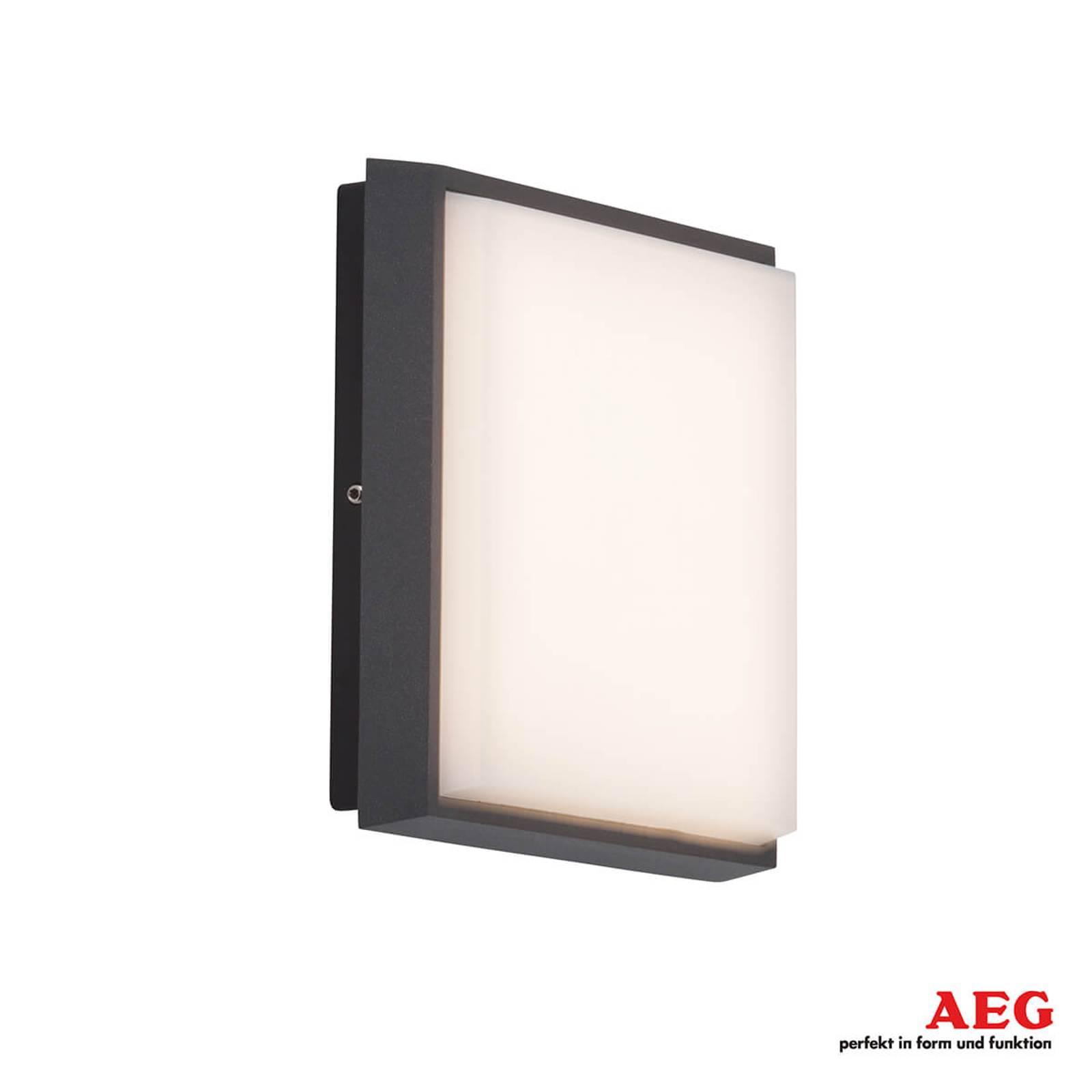 Kulmikas LED-ulkoseinälamppu Letan Square - 9 W