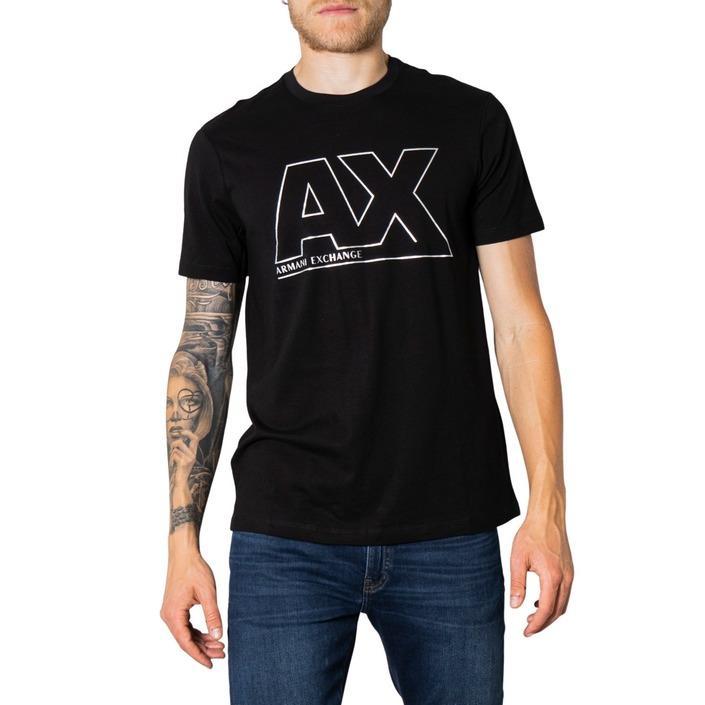 Armani Exchange Men's T-Shirt Black 273442 - black L