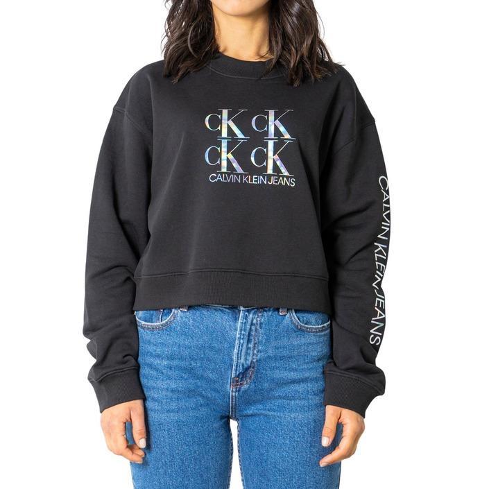 Calvin Klein Jeans Women Sweatshirt Various Colours 238990 - black XS