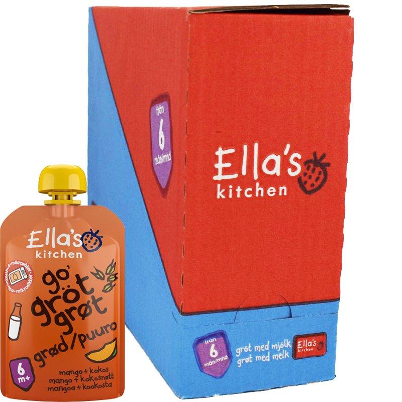 Laatikollinen lastenruokaa mango/kookos puuro - 38% alennus