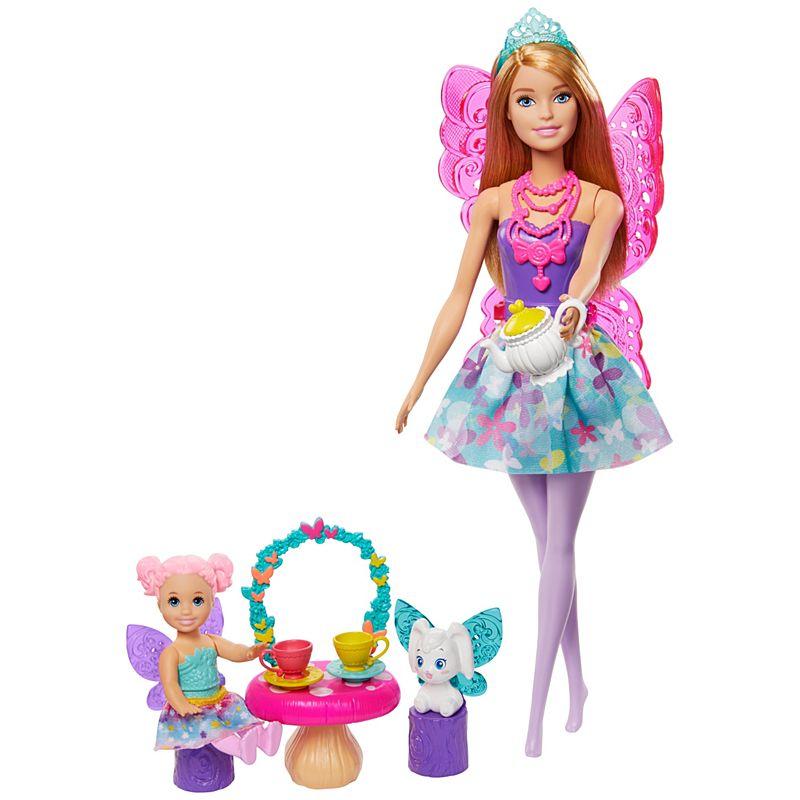 Barbie - Dreamtopia Nurturing Story - Fairy Tea Party Set (GJK50)