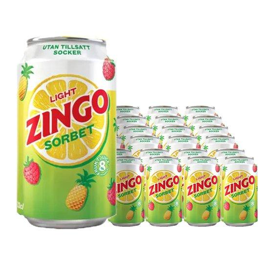 Zingo Light Sorbet 24-pack - 24% rabatt