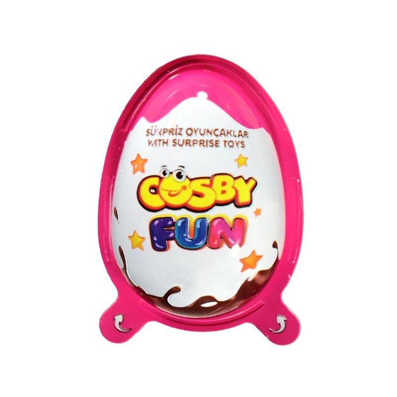 Cosby Fun Ägg Rosa 20g