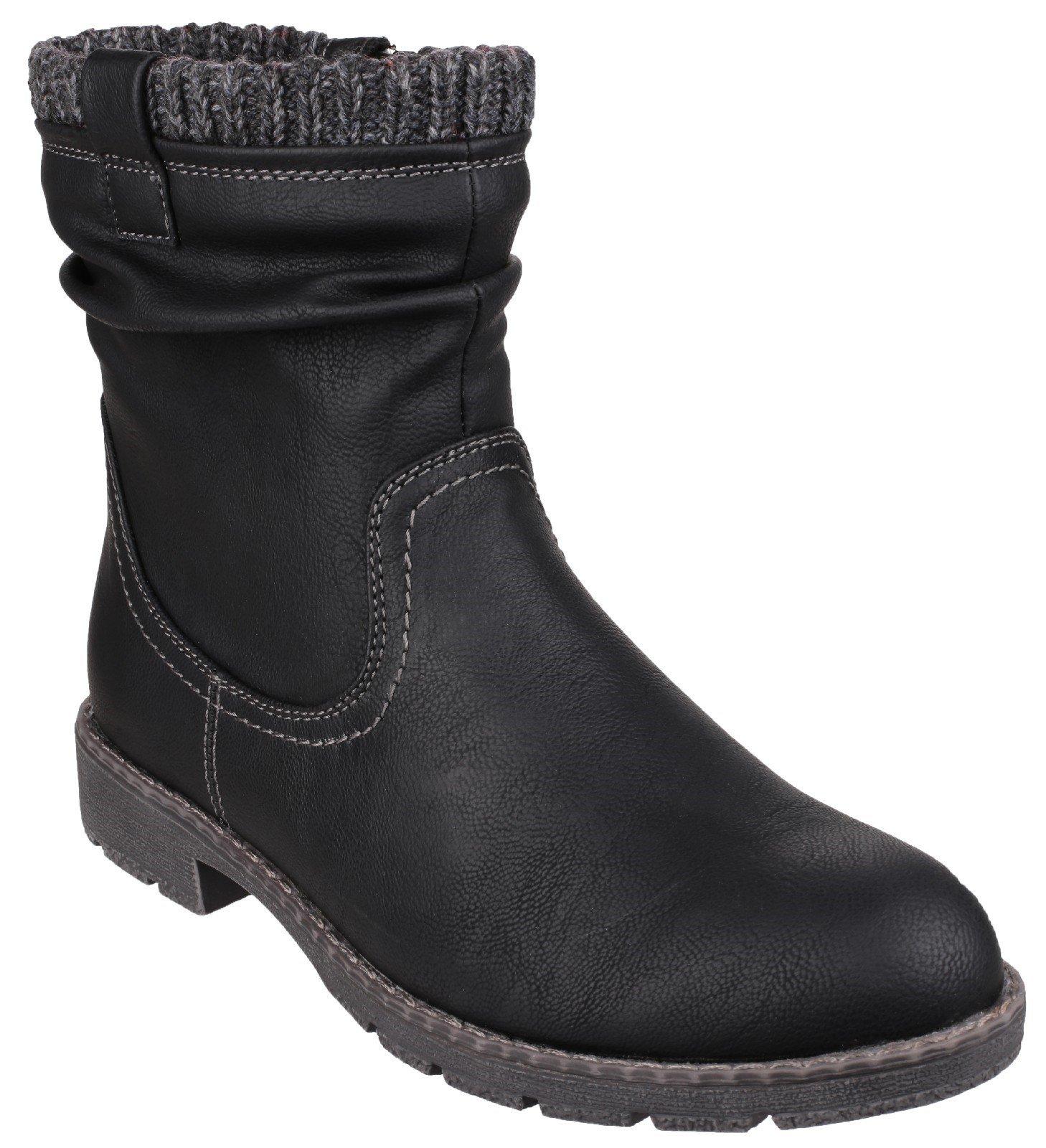 Divaz Women's Lucca Black 22812-37243 - Black 3