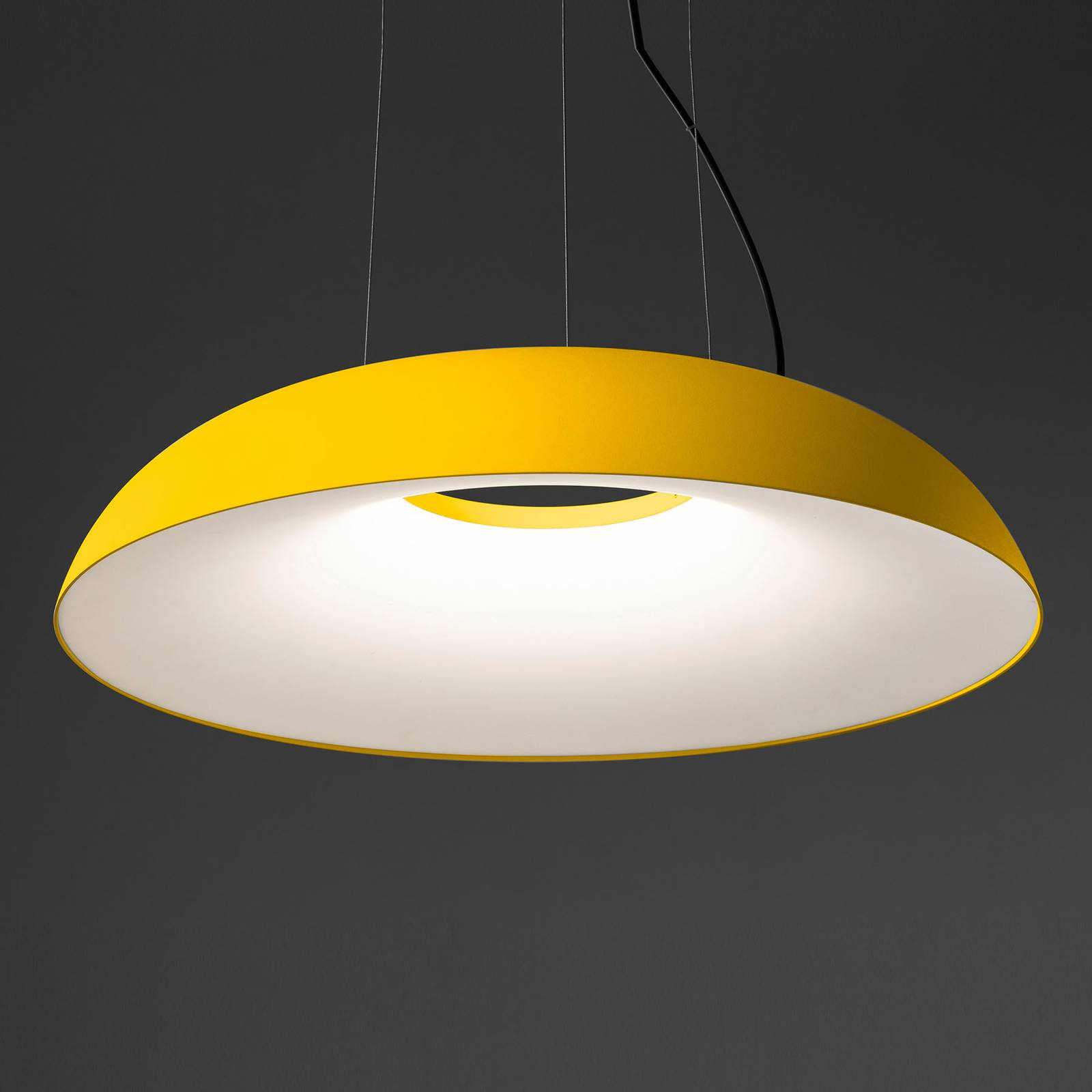 Martinelli Luce Maggiolone -riippu 85 cm keltainen