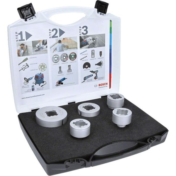Bosch Best for Ceramic Dry Speed Diamantborsett X-LOCK, 5 deler