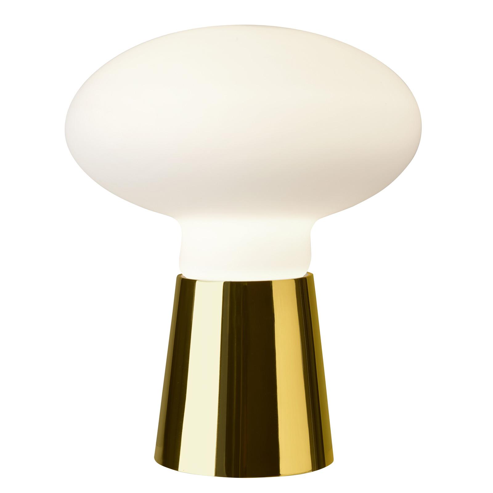 Villeroy & Boch Bilbao pöytälamppu, kultaväri 35cm