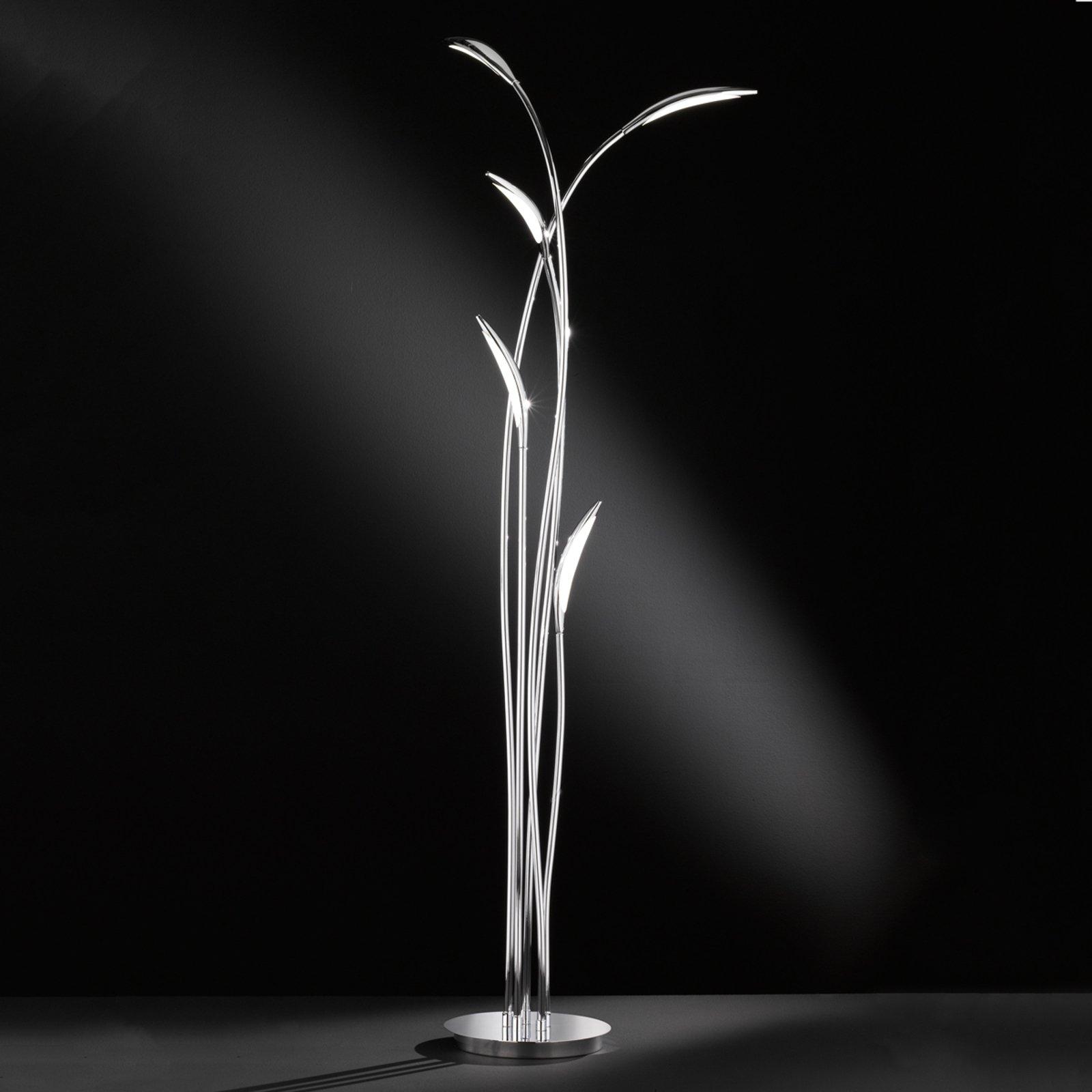 Trinnløs dimbar LED-stålampe Hampton