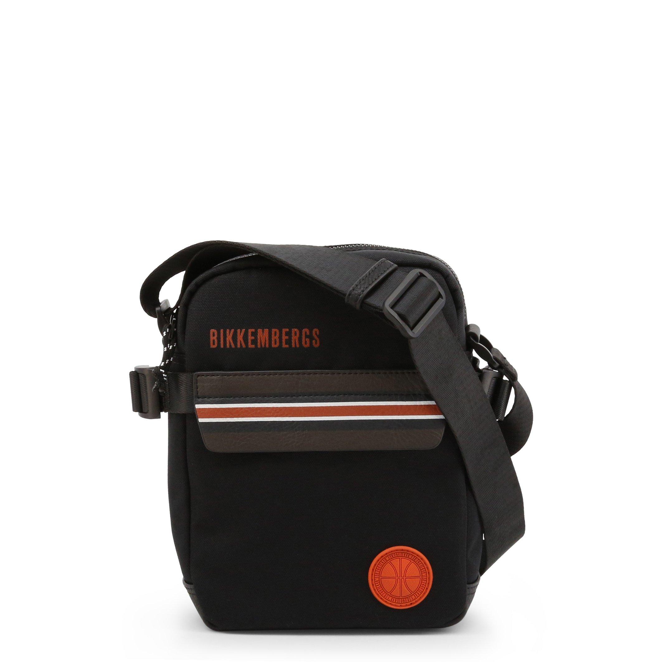 Bikkembergs Men's Crossbody Bag Blue E4APME2A0012 - black NOSIZE