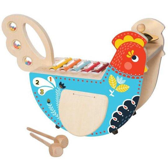 Manhattan Toy Aktivitetsleke Musical Chicken