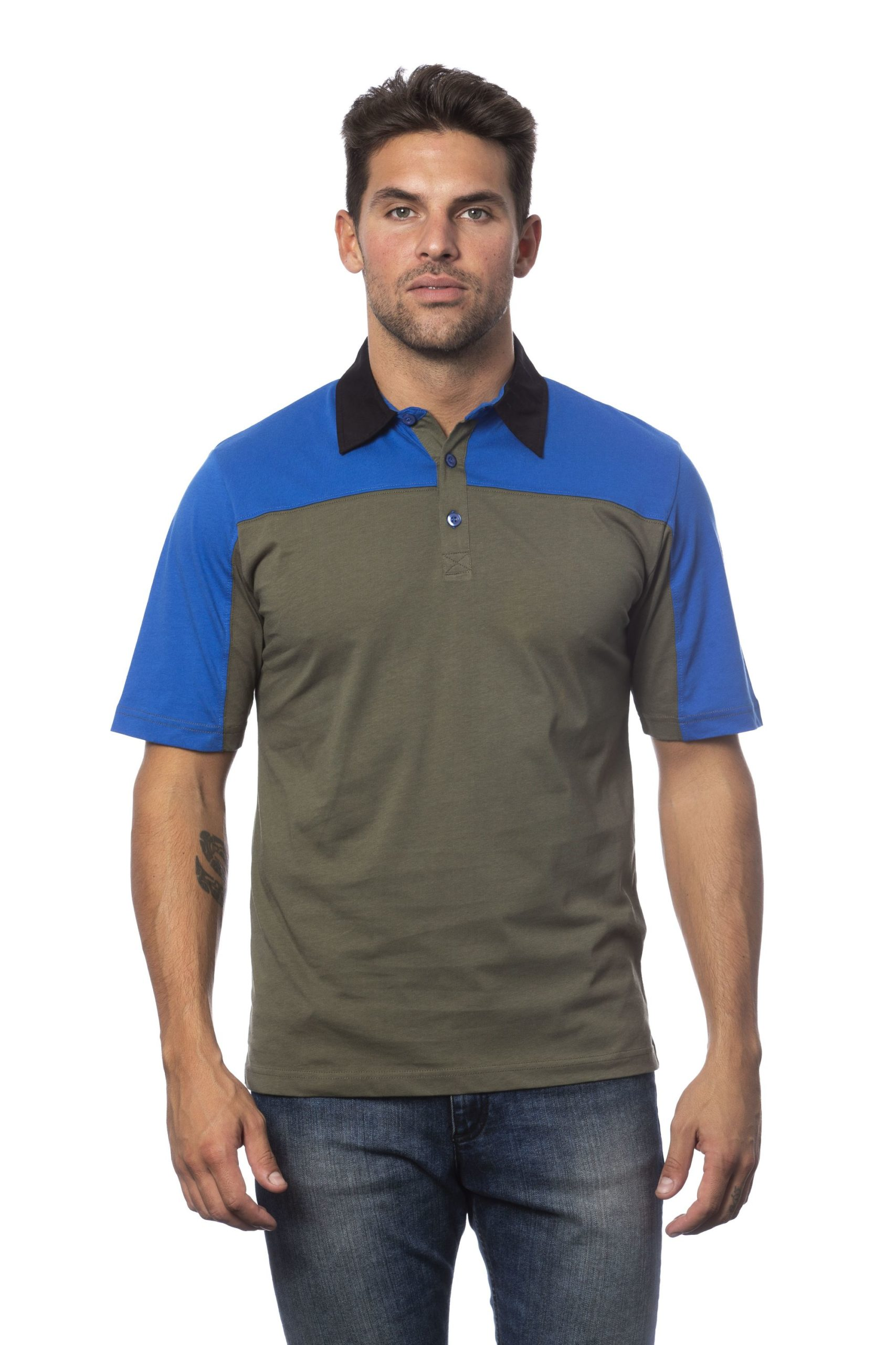 Verri Men's Polo Shirt Multicolor VE994860 - M