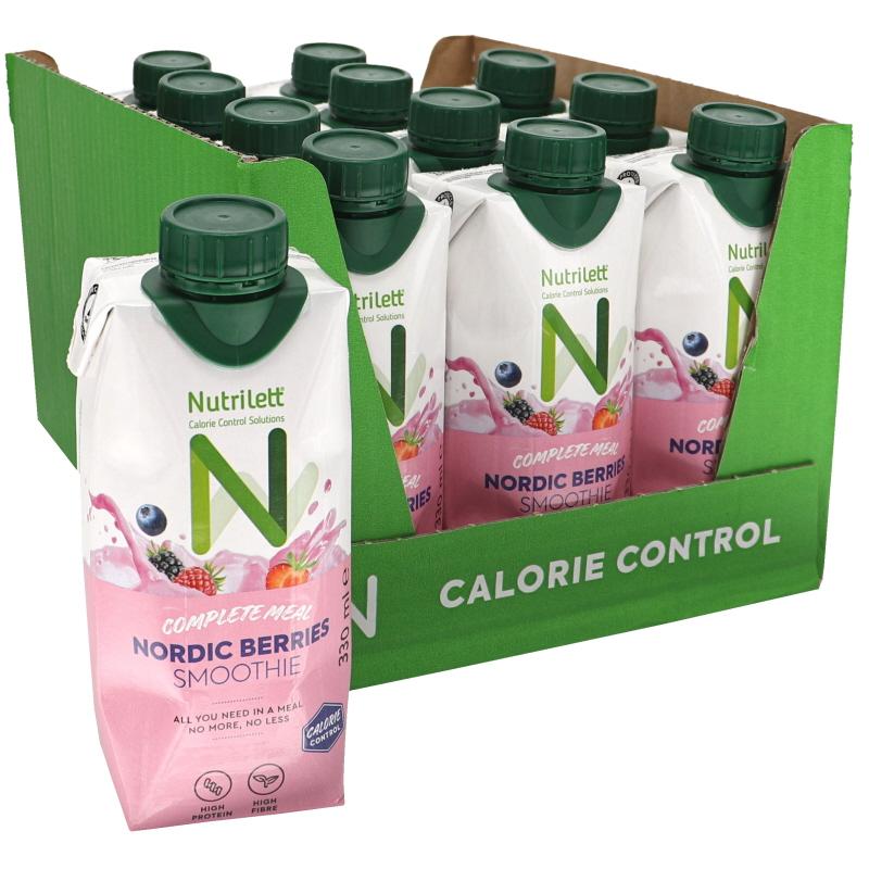 Måltidsersättning Smoothie Nordic Berries 12-pack - 22% rabatt