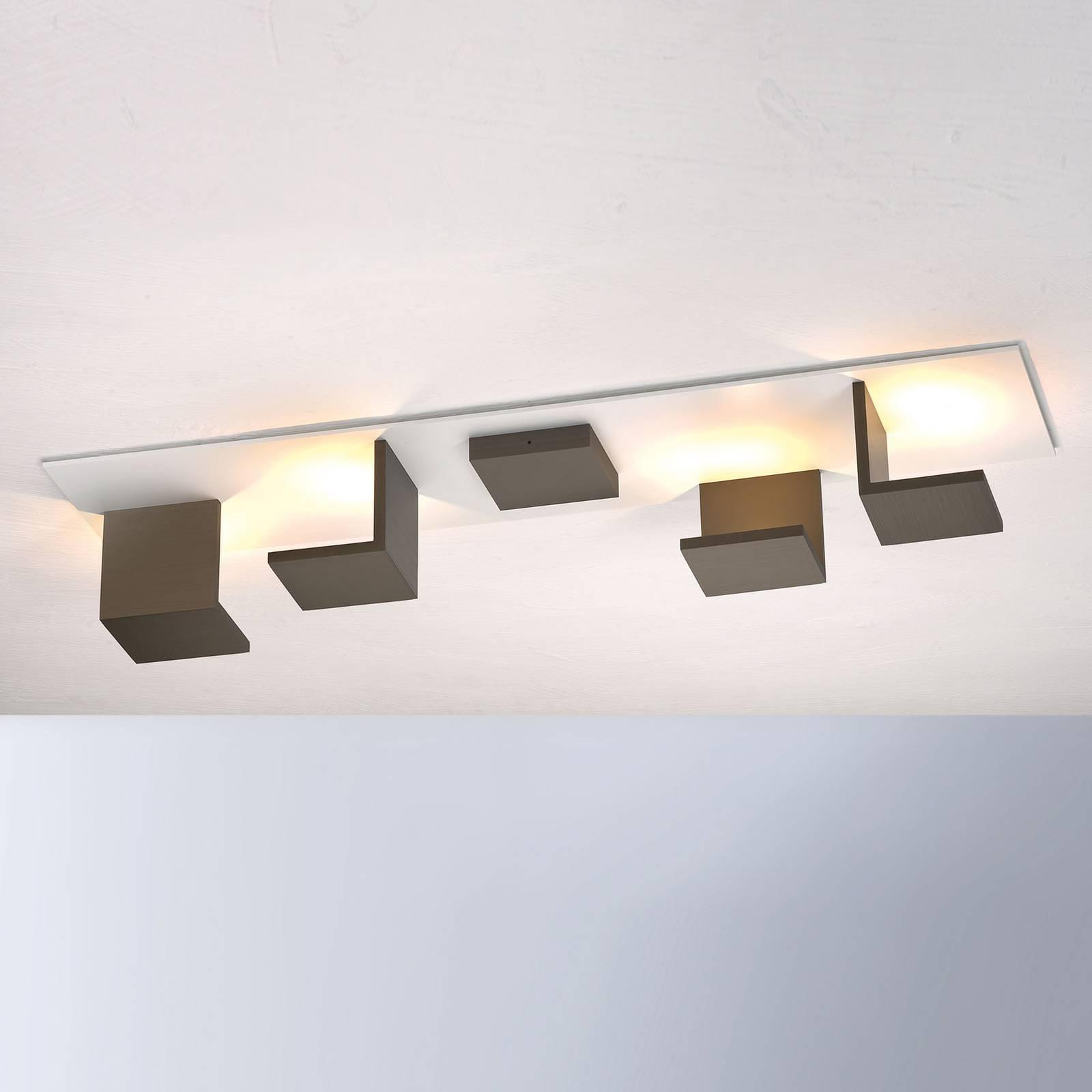Bopp Reflections LED-kattovalaisin pitkä pronssi