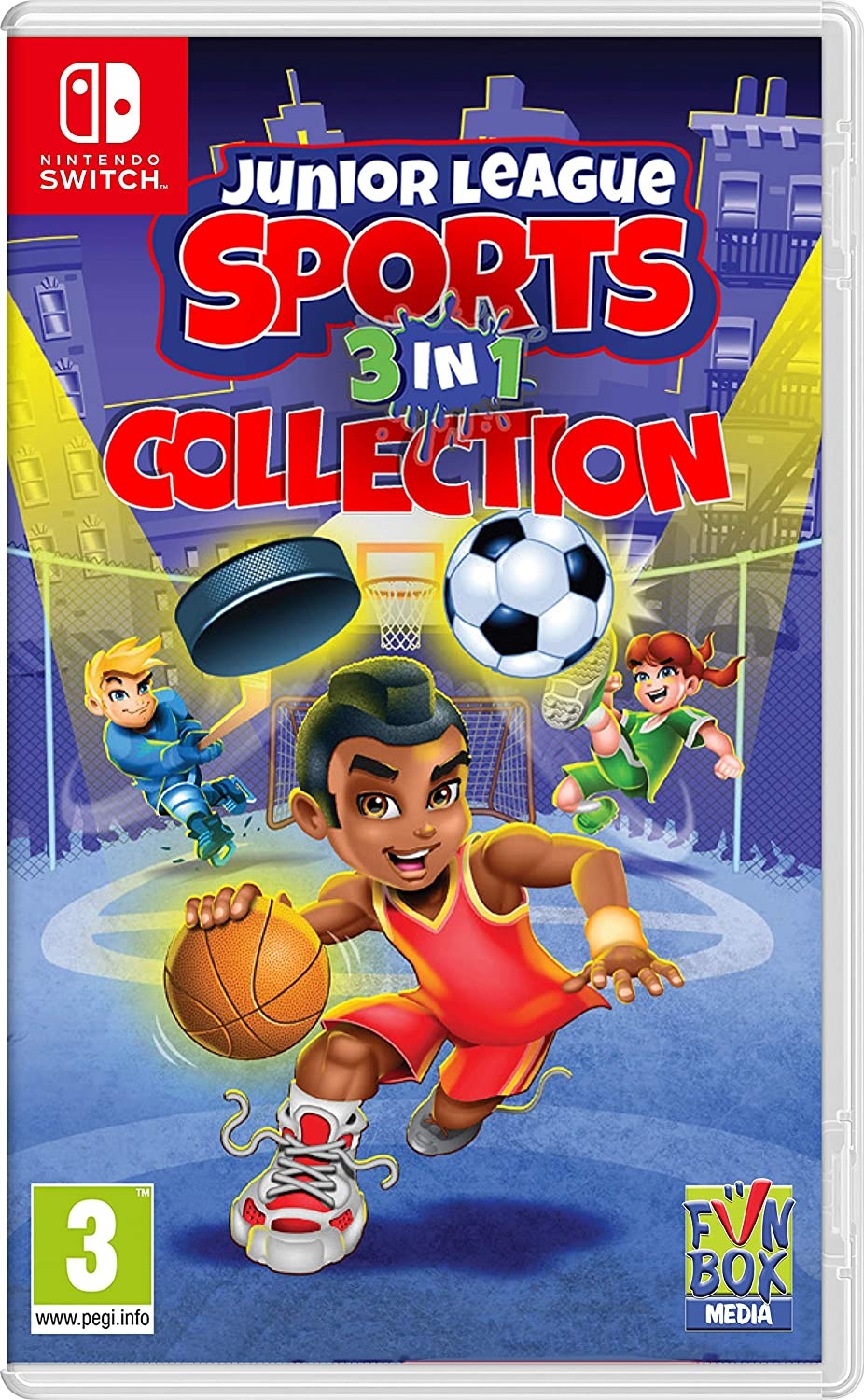 Junior League Sports Collection (Code in a Box)