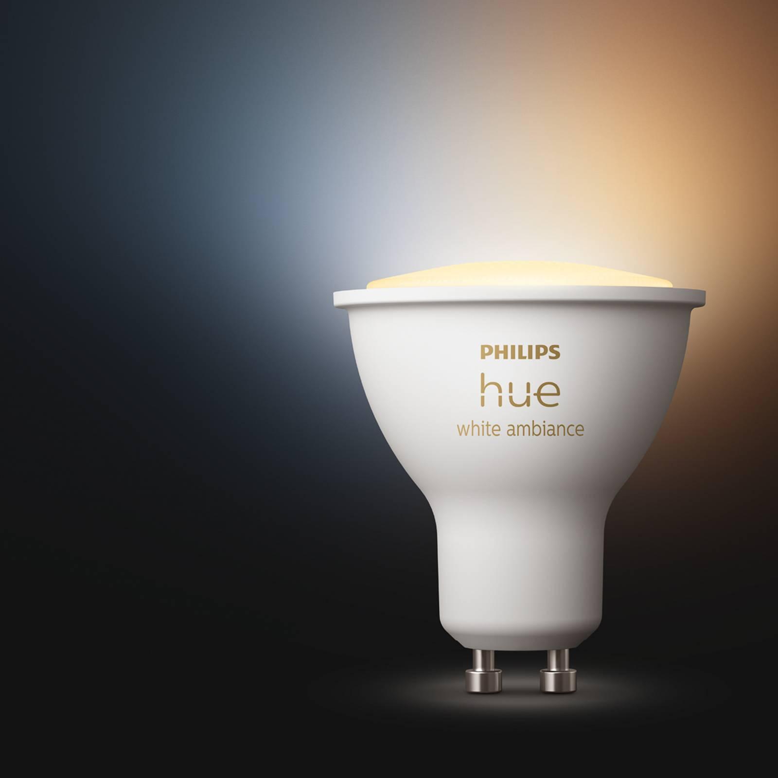 Philips Hue White Ambiance 5 W GU10-LED-lamppu