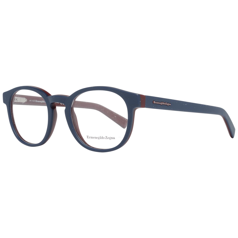 Ermenegildo Zegna Men's Optical Frames Eyewear Blue EZ5104 50092