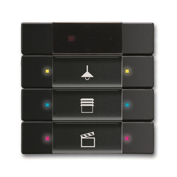 ABB 6135-0-0166 Painike 3-napainen Musta