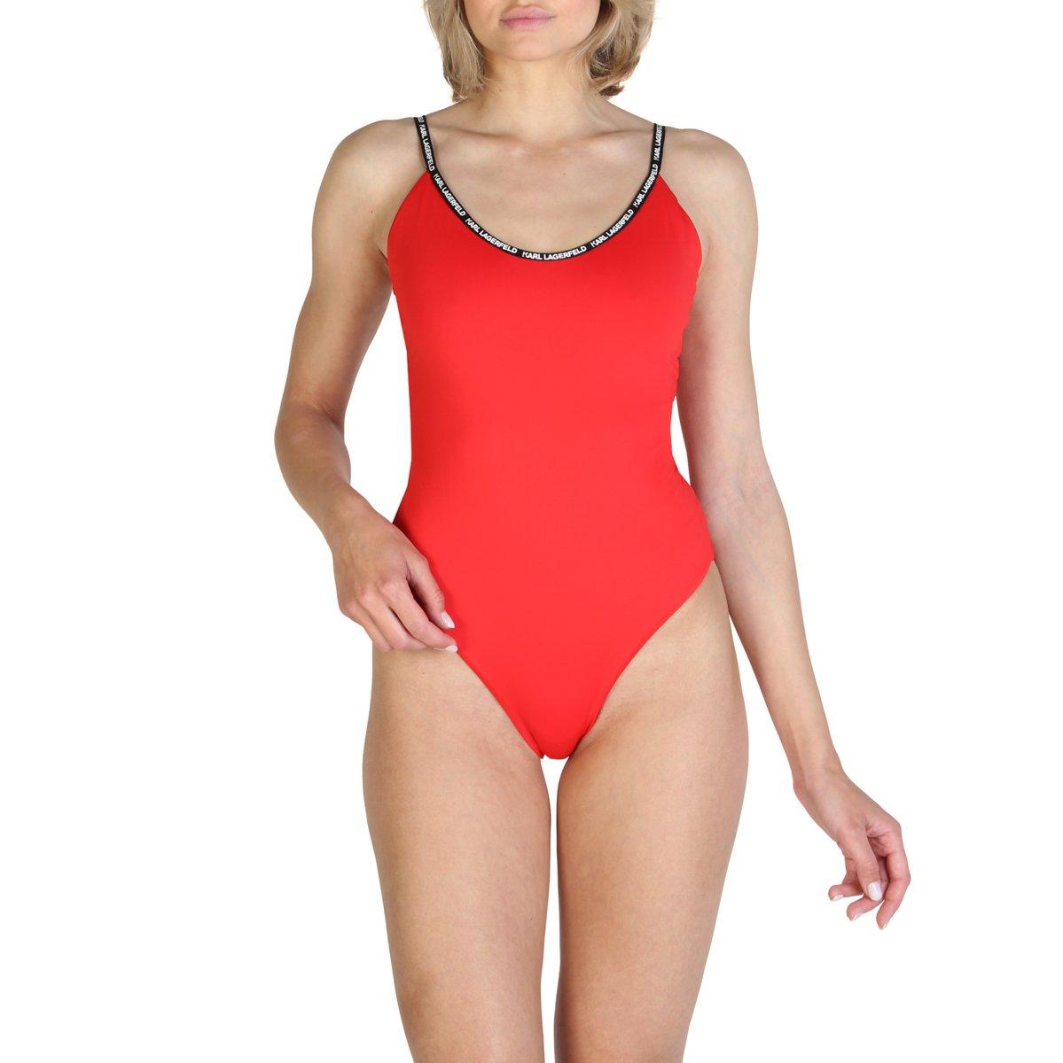 Karl Lagerfeld Women's Swimwear Various Colours KL21WOP01 - red XS
