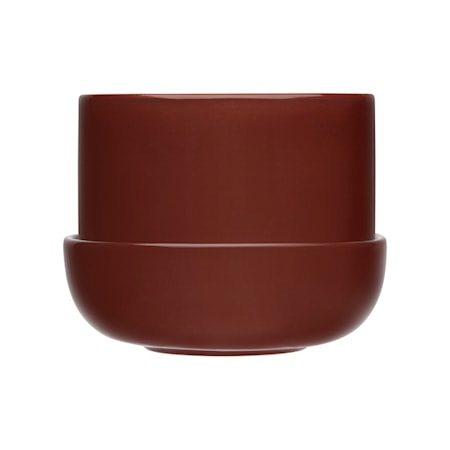 Nappula kruka med fat 170x130 mm brun