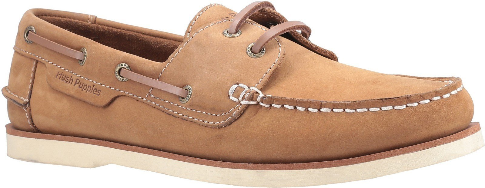 Hush Puppies Men's Henry Classic Lace Up Loafer Various Colours 28365 - Chestnut 6