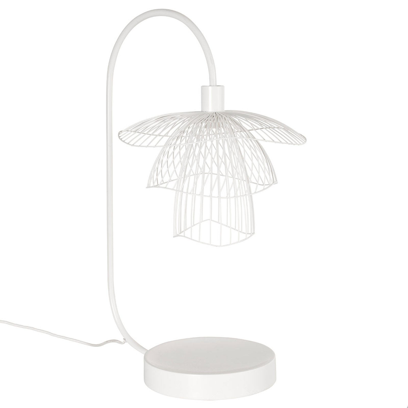 Forestier Papillon XS bordlampe, hvit