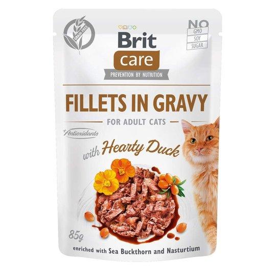 Brit Care Cat Adult Anka i Sås 85 g