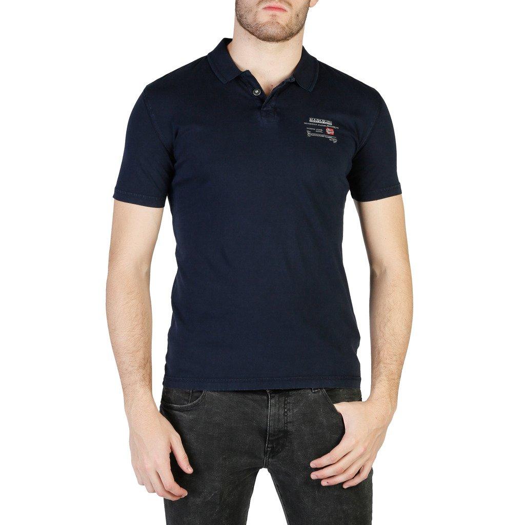 Napapijri Men's Polo Shirt Various Colours N0YHQK - blue S