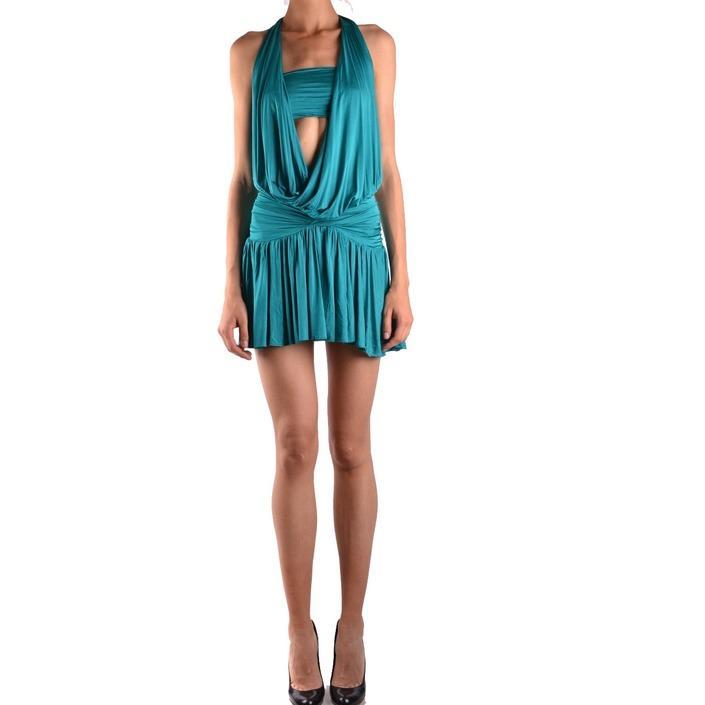 Pinko Women's Dress Green 162443 - green S