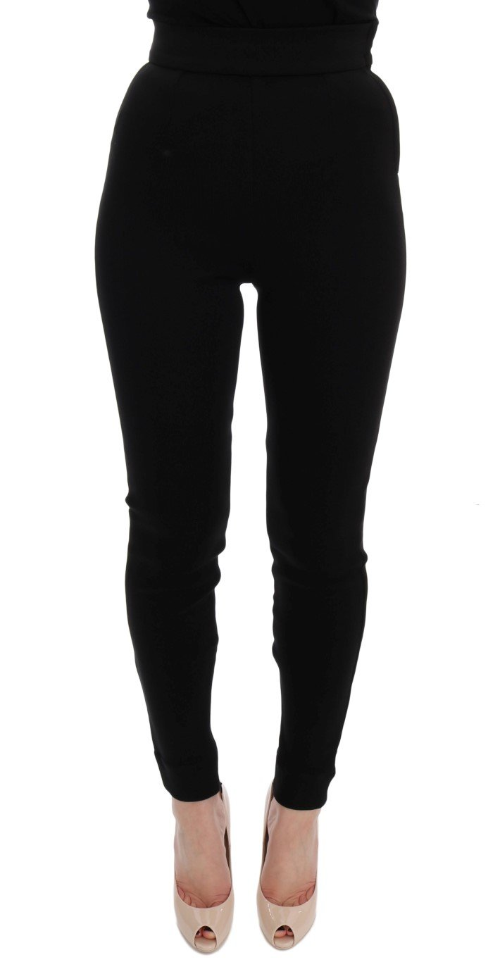 Dolce & Gabbana Women's Trouser Black SIG60212 - IT38 XS