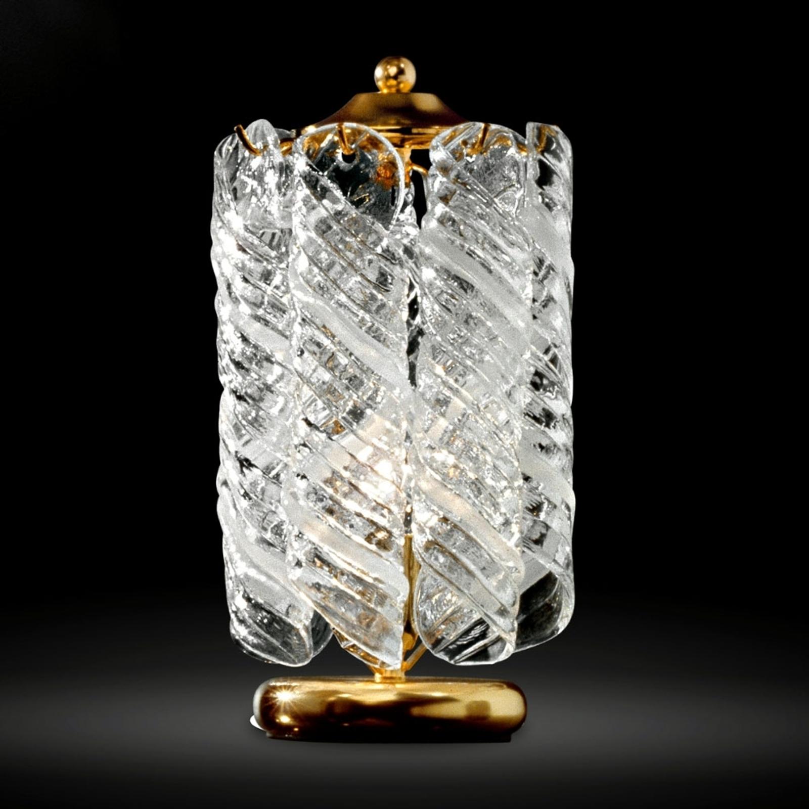 Yöpöytälamppu Molle – 24 karaatin kultaus