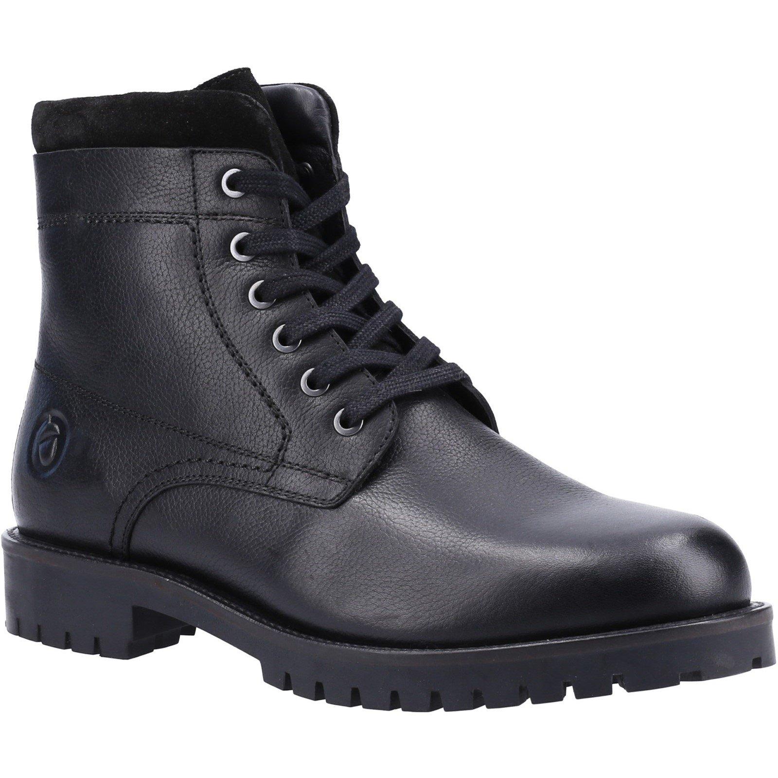 Cotswold Men's Thorsbury Lace Up Shoe Boot Various Colours 32963 - Black 6