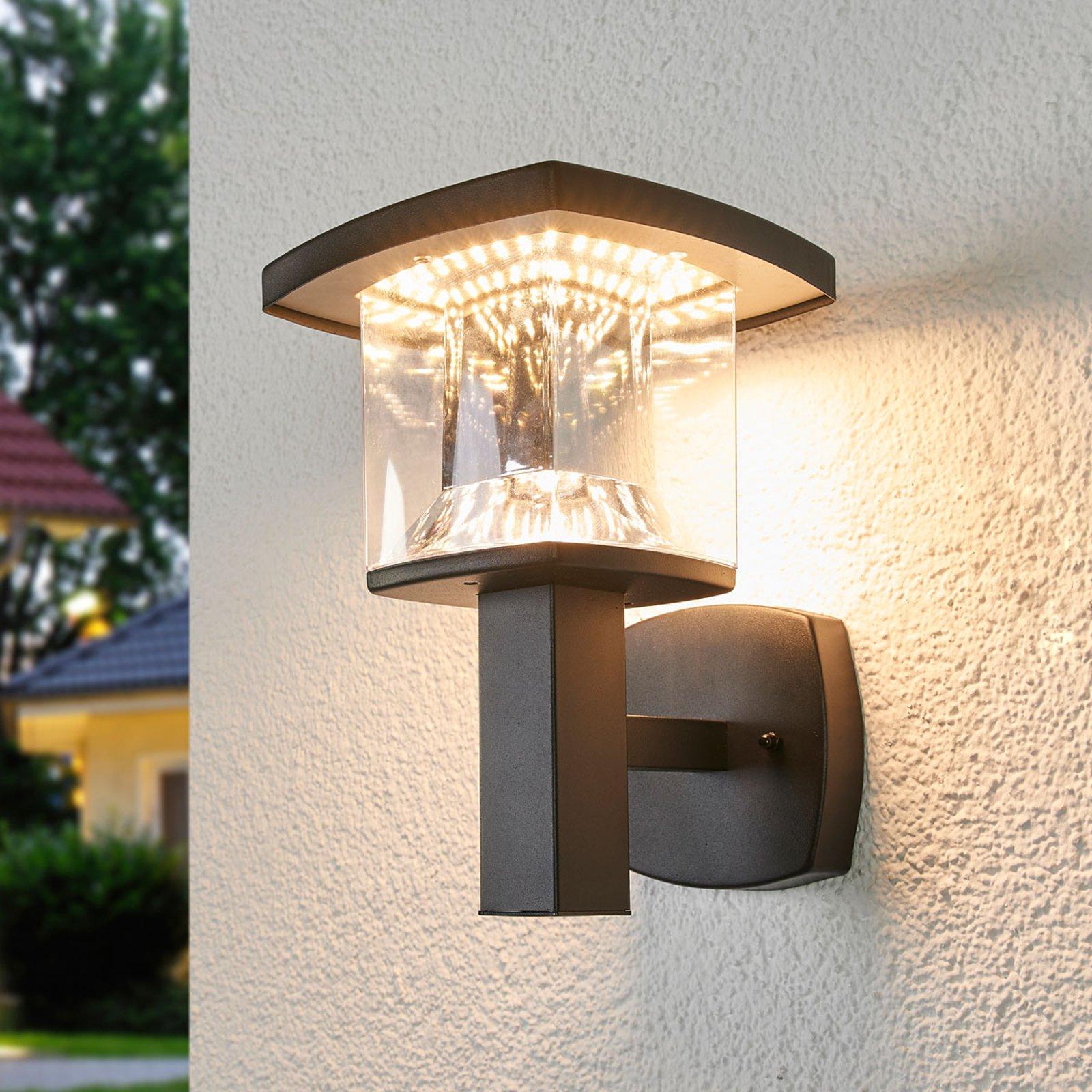 LED-utevegglampe Askan i rustfritt stål