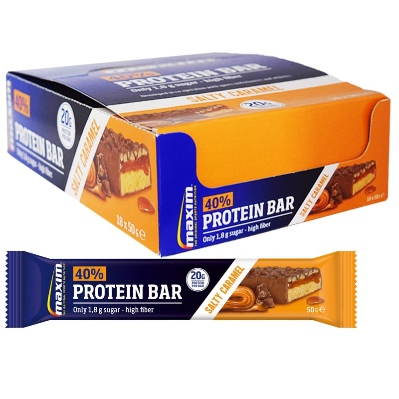 Proteiinipatukoita Salty Caramel - 31% alennus