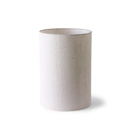 Cilinder Lampskärm Natural Linen ø24,5 cm