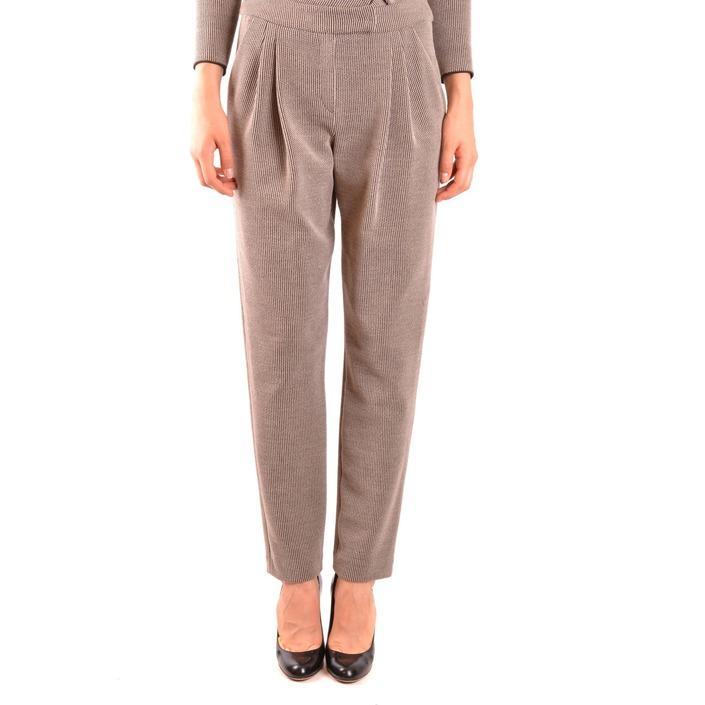 Armani Collezioni Women's Trouser Beige 163979 - beige 40