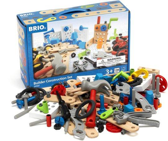 BRIO 34587 Byggesett Builder Konstruksjon