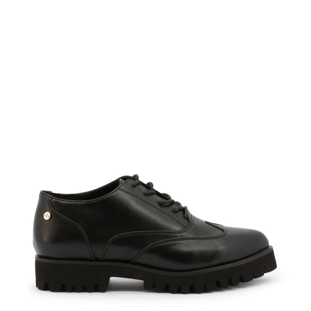 Roccobarocco Women's Lace up Shoe Black RBSC0UW02 - black EU 37