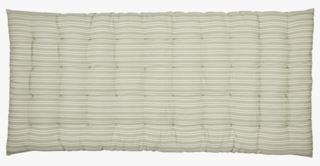 Bolster large stripe istuintyyny vaaleanvihreä