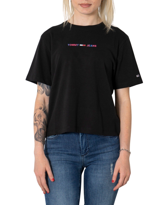 Tommy Hilfiger Jeans Women's T-Shirt Various Colours 273115 - black XXS