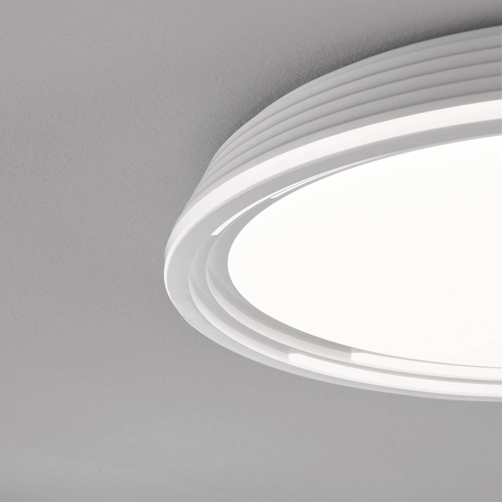 LED-kattovalaisin Dua, himmennettävä, Ø 43 cm