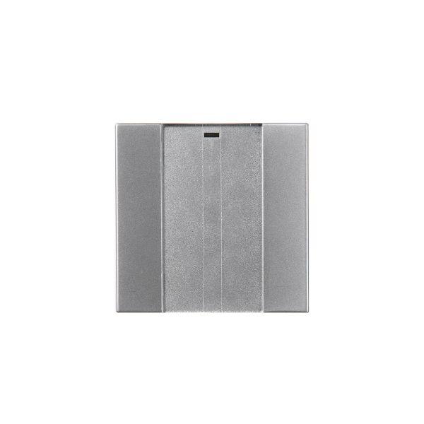 ABB Impressivo 6731-83-500 Painike 1-napainen, langaton Alumiini