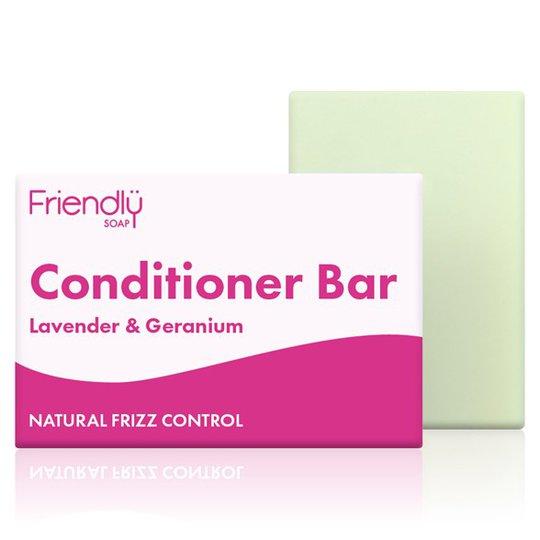 Friendly Soap Conditioner Bar Lavender & Geranium, 95 g