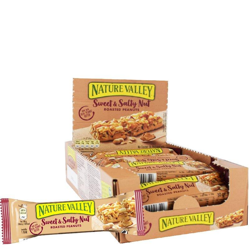 Kaurapatukat Sweet & Salty Peanut 18kpl - 43% alennus