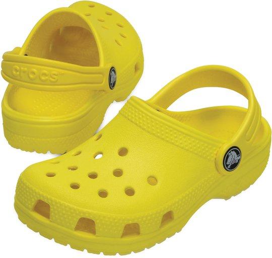 Crocs Classic Clog, Lemon Str 24-25