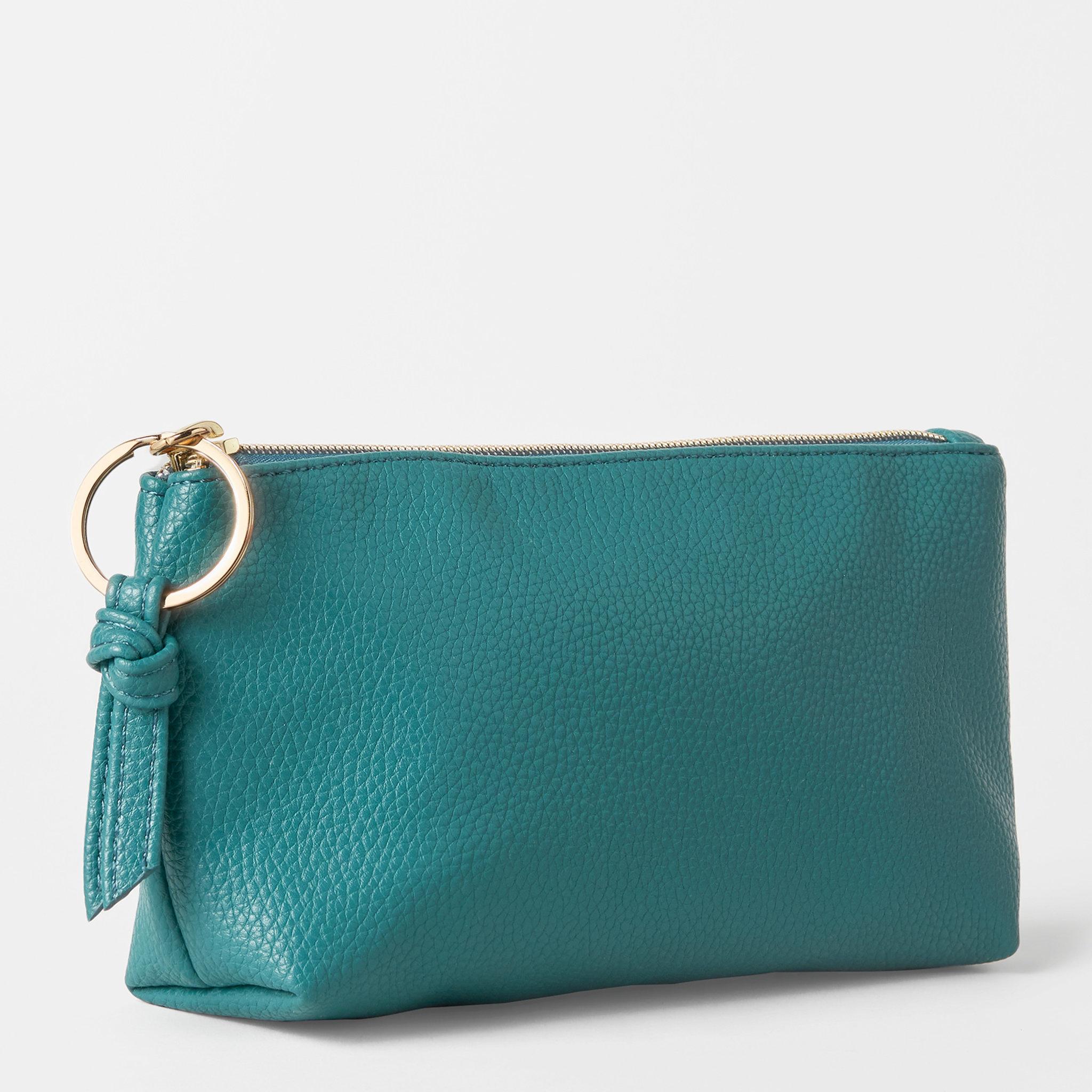 Classic Make Up Bag Petrol Blue