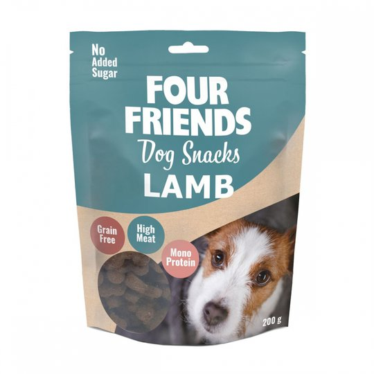 Four Friends Dog Snacks Lamb 200 g