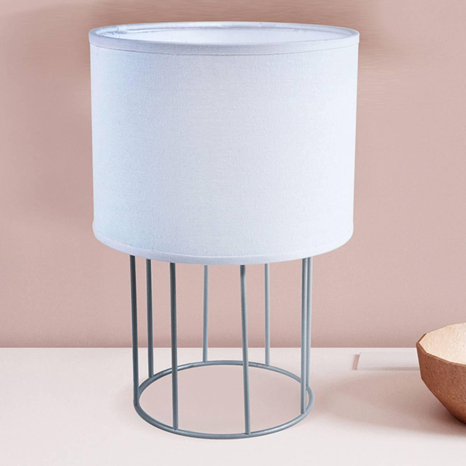 Bordlampe Carla S, hvit
