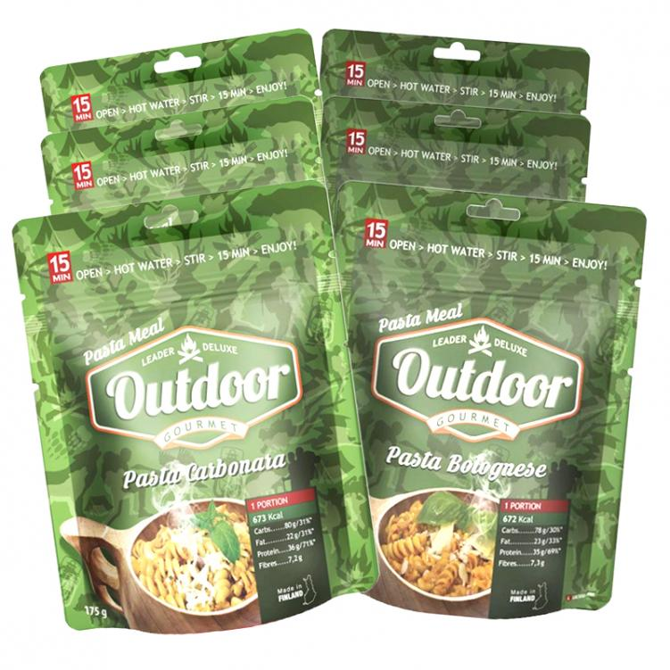 Outdoor Meals 6kpl - 35% alennus